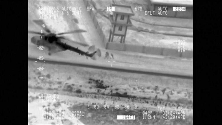 Iraq Ramadi soldiers rescue