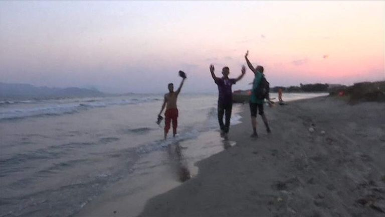 Migrant Recalls Journey To Kos