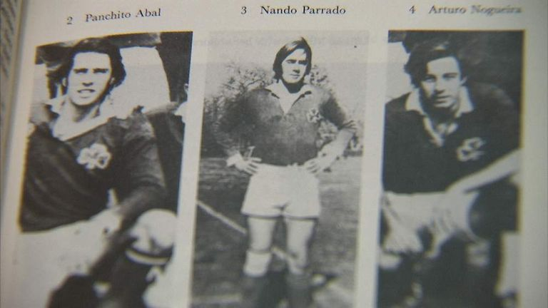 Rugby players in 1970s