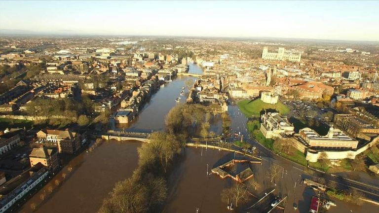 York flooding