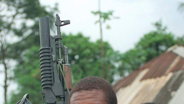 liberia dictator charles taylor