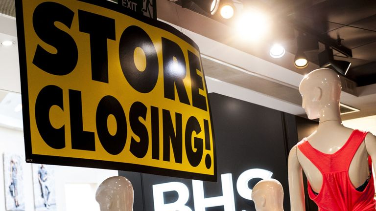 BHS will disappear from the UK's high streets by 20 August