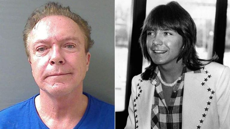 David Cassidy In 2012 And 1974