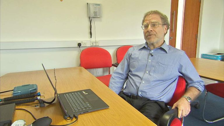 Don Grubin, Professor of Forensic Psychiatry at Newcastle University