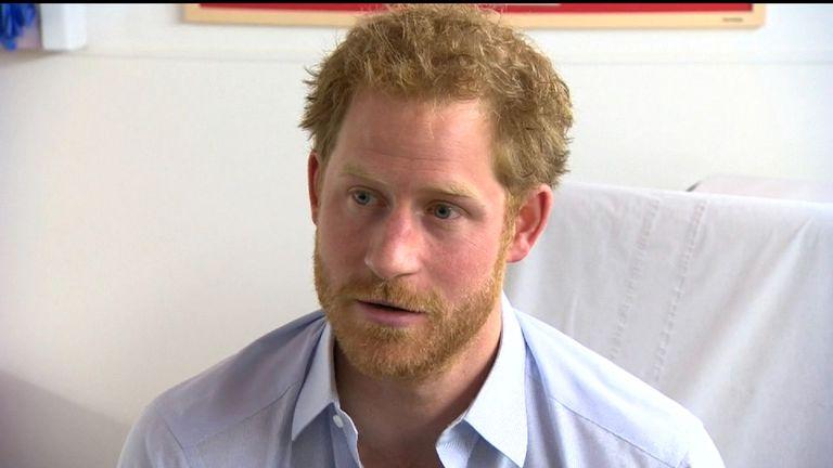 Prince Harry Takes HIV Test