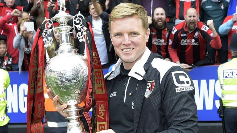 Bournemouth Eddie Howe LMA Manager of the Year