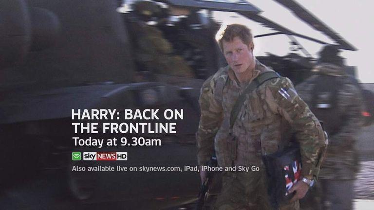 Prince Harry On Afghanistan Frontline Promo