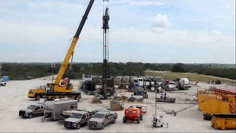 Fracking equipment