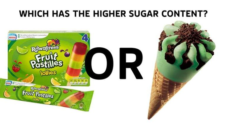 Quick Quiz: Which Foods Have The Most Sugar? | UK News | Sky News