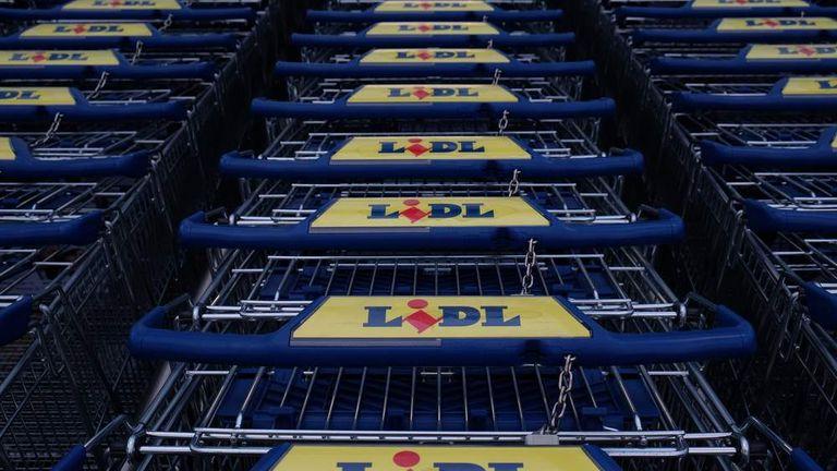 Lidl Shopping Trollies
