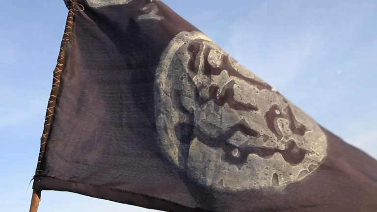 Boko Haram Flag In Nigeria