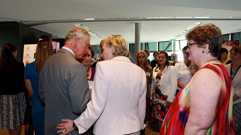 The Prince Of Wales & Duchess Of Cornwall Visit Australia