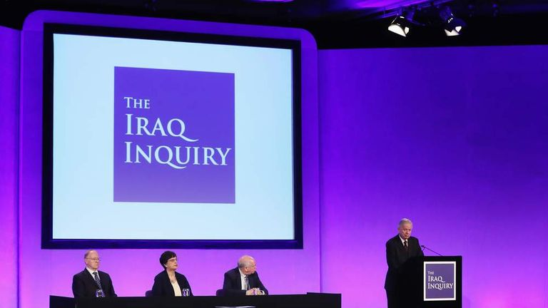 Sir John Chilcot Delivers The Iraq Inquiry Report