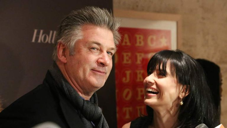 Alec Baldwin and wife Hilaria in New York