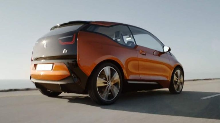 The Bmw I3 Concept Coupe
