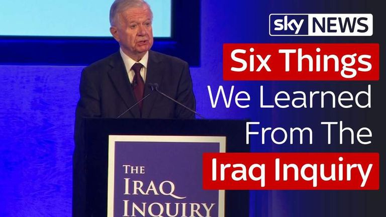 Six Things We Learned From The Iraq Inquiry