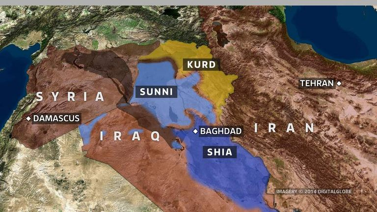 Iraq Facing Sectarian Split After ISIS Advance | World News | Sky News