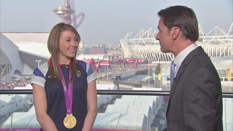 Olympic gold medallist Jade Jones