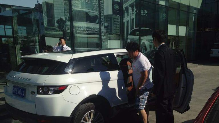 Range Rover Evoque In China