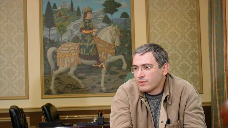 Miikhail Khodorkovsky