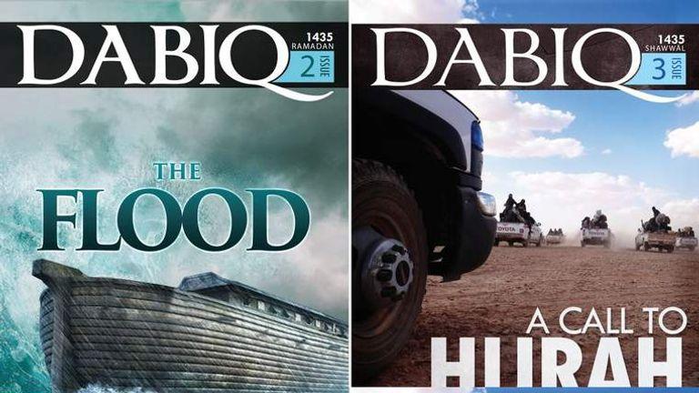 Dabiq, the Islamic State magazine