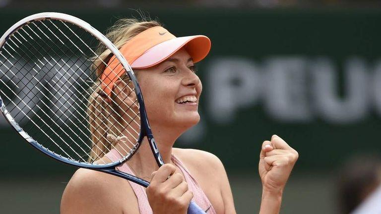 Sharapova Survives Scare