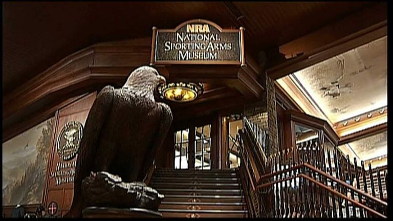 NRA Opens Museum Of Historical Firearms | US News | Sky News