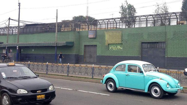 Santa Monica women's prison in Chorrillos, Lima