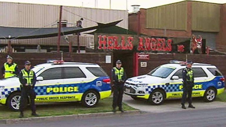 Australia: Police Raid Hells Angels' Lairs   World News   Sky News