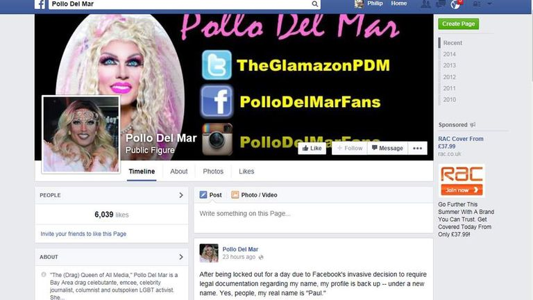 Drag Queens Angry Over Facebook Stage Name Ban | Science