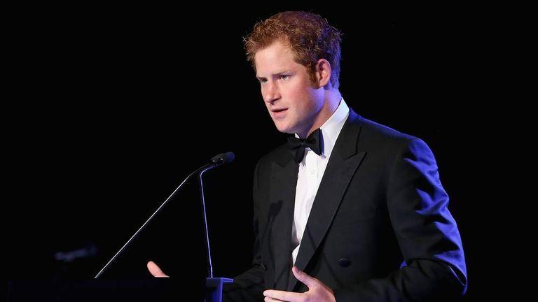 Prince Harry Gives Speech In Arabic