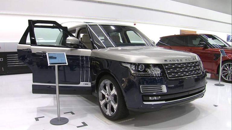 Range Rover At JLR Plant