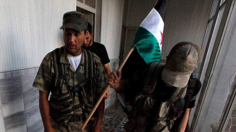 Free Syrian Army soldiers