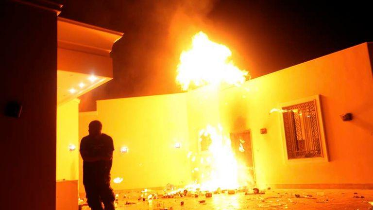 US Embassy In Libya 'Denied' Extra Security   US News   Sky News