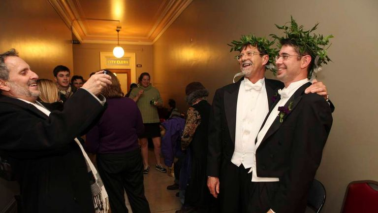 Gay Marriage Becomes Legal In Maine | US News | Sky News