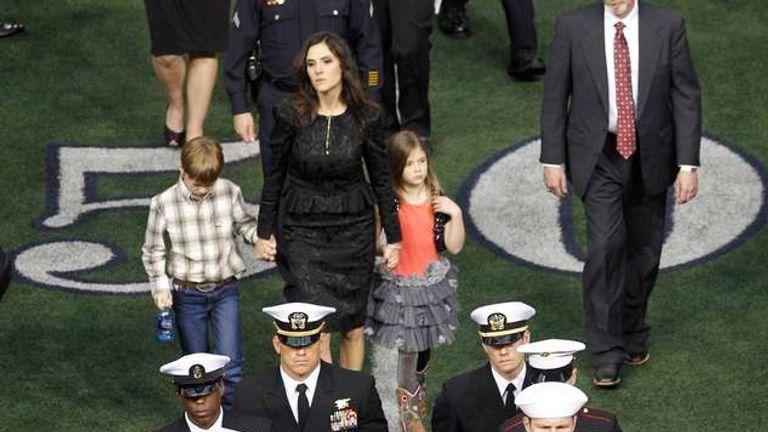 Chris Kyle: Memorial For US Sniper Shot Dead   US News   Sky News