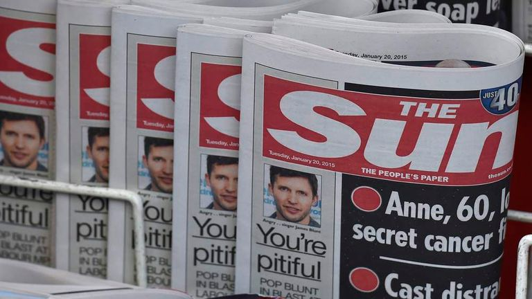 The Woman The Sun Page 3 >> The Sun Puts Topless Woman Back On Page 3 Uk News Sky News