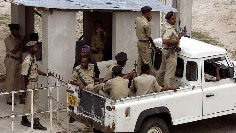 Zanzibar police
