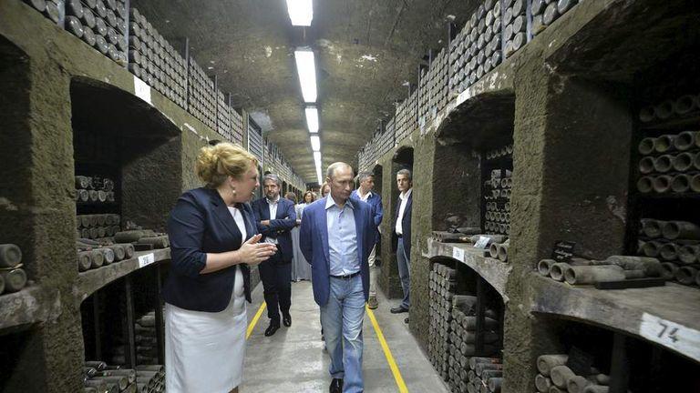 Putin And Berlusconi In 240-Year-Old Wine Row | World News ...