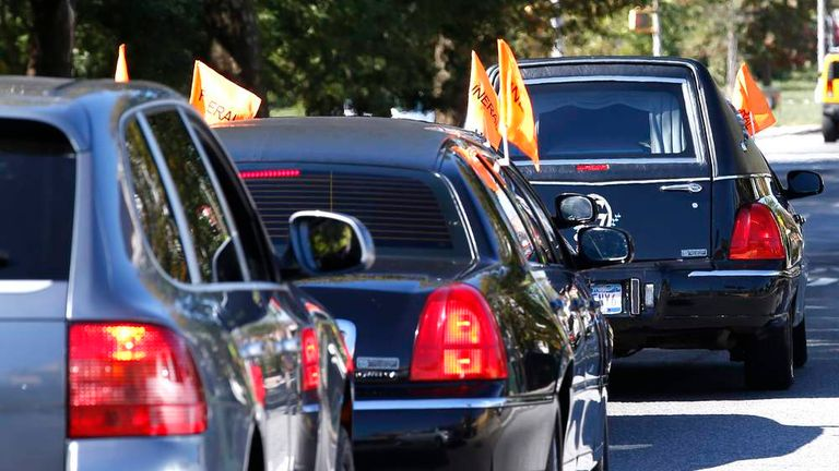 Capitol Chase: Funeral Held For Miriam Carey   US News   Sky