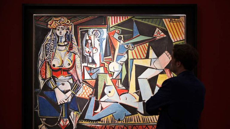 Pablo Picasso's Les Femmes D'Alger