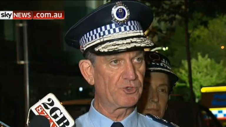 NSW Police Commissioner Andrew Scipione