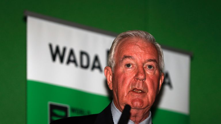 Sir Craig Reedie, president of WADA, says he has never encountered such a report