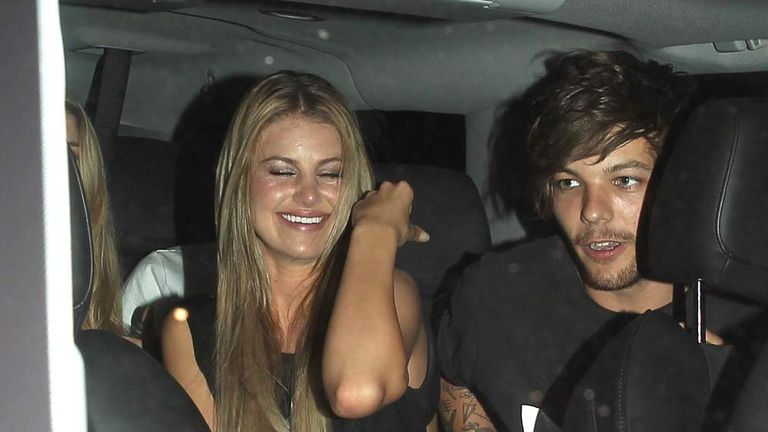 Louis Tomlinson joins Briana Jungwirth at Snoop Dogg's 'Bush' Album Release