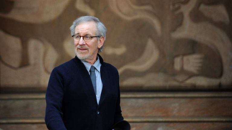 INDIA-US-ENTERTAINMENT-SPIELBERG