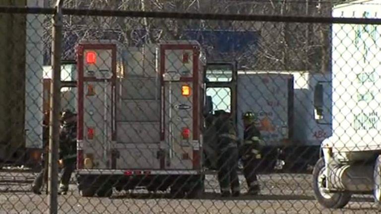Missouri Man Loses Legs In Tyre Shredder | US News | Sky News