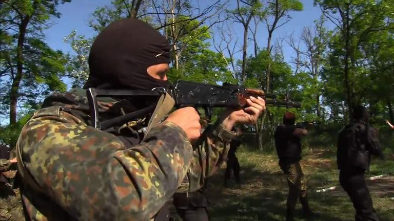 UKraine's Azov Battalion says it is ready to fight for its country