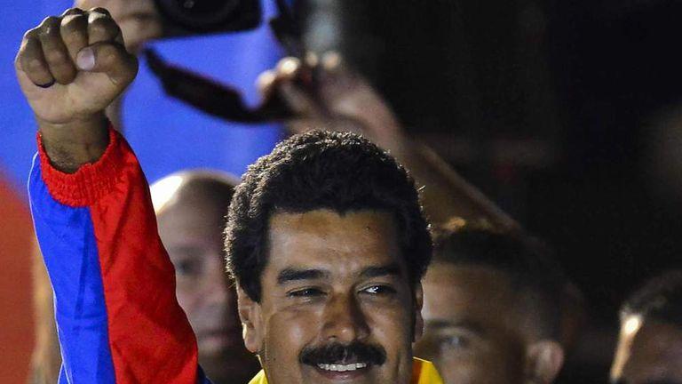 VENEZUELA-ELECTION-MADURO