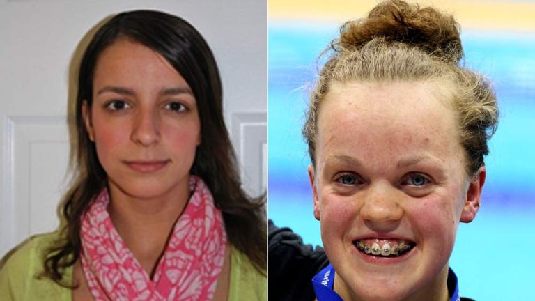 Victoria Arlen and Ellie Simmonds