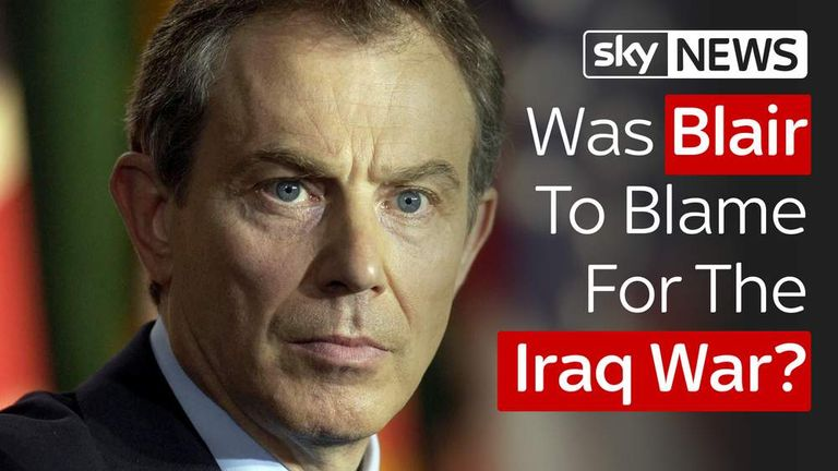 Was Blair to blame for the Iraq War?